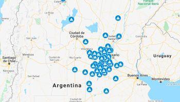 Mapa: las localidades que restringen la circulación de camiones en la cuarentena