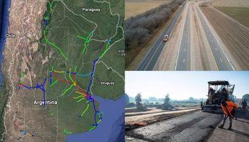 Mapa de obras viales: las que ya están y las que vendrán