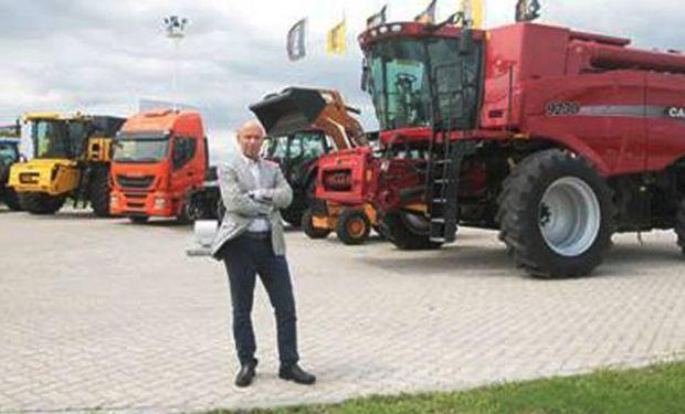 Marcus Cheistwer. CEO de CNH Industrial, que fabrica tractores y cosechadoras Case y New Holland (LaVoz)