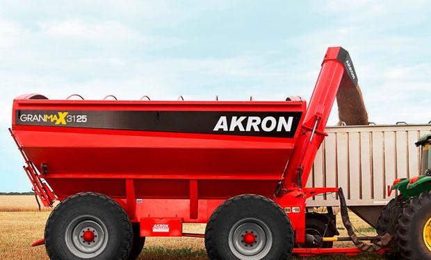 Akron exhibirá ante el gran público la línea de tolvas autodescargables GranMax.