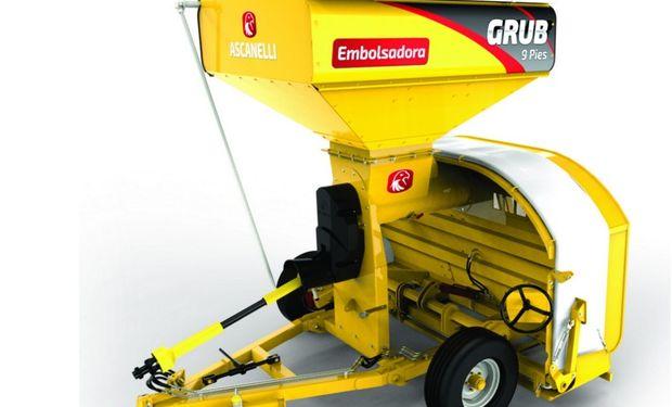 Ascanelli lanzará la novedosa embolsadora de granos Grub.