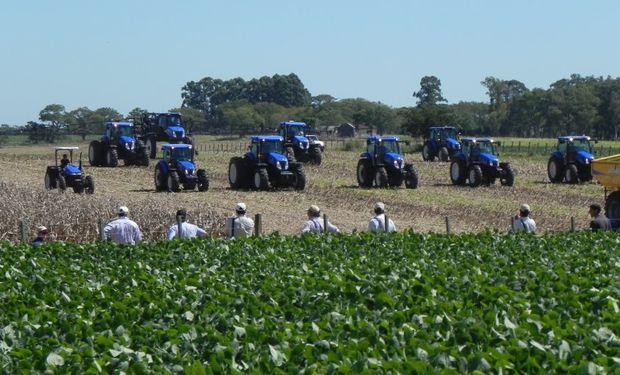 URUGUAY. Inversiones en tractores, sembradoras y cosechadoras en 2015 llegaron a US$ 130 millones.