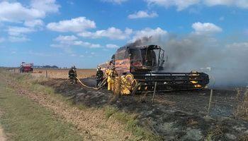 Incendio de maquinaria, una amenaza presente en cada campaña