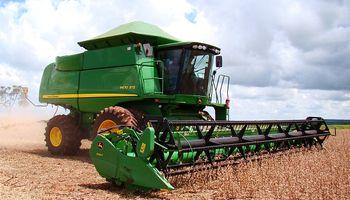 Cayó un 2,9 por ciento la venta de maquinarias agrícolas respecto de 2017