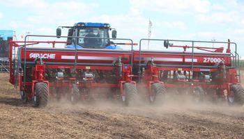 La venta de maquinaria agrícola cayó un 12% en el primer trimestre