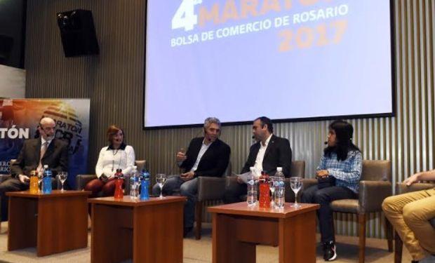 Se lanzó la 4° Maratón integrativa y solidaria de la BCR