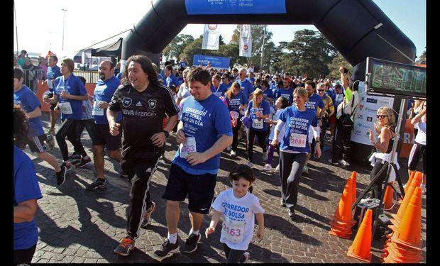 La primera edición de la Maratón fue un éxito. Fuente: BCR.