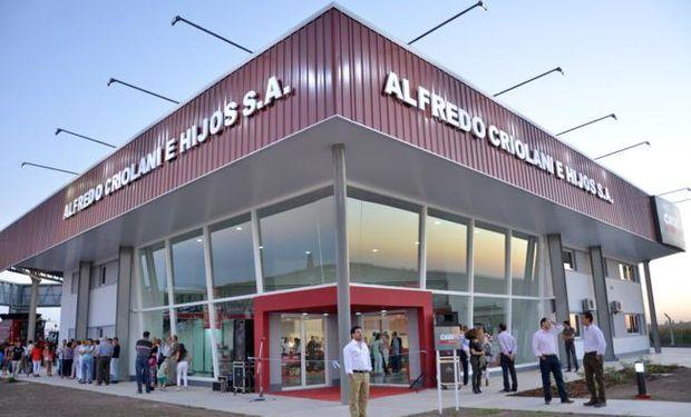 Desde el 2015, Criolani está en Marcos Juárez, sobre la autopista Rosario - Córdoba