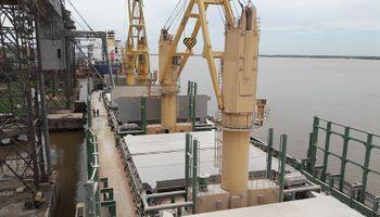 La marina mercante argentina vuelve a participar en los mercados de graneles
