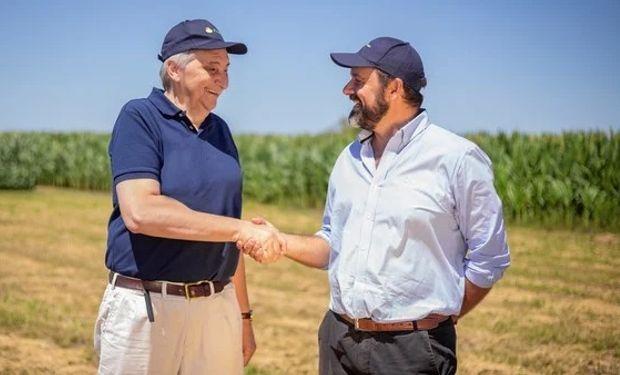 Foto: izquierda Mario Rubino (gerente general de ACA) derecha Claudio Soumoulou (presidente de ACA).