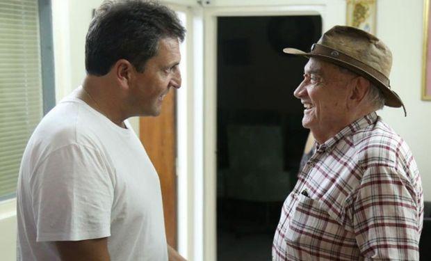 El diputado del Frente Renovador dialogó con productores de Santiago del Estero. Foto: Prensa Frente Renovador.
