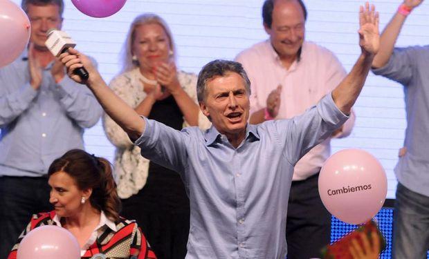 """Yo estoy acá por ustedes así que les pido por favor, no me abandonen, sigamos juntos"", manifestó Macri."