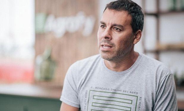 Maximiliano Landrein, CEO de Agrofy.