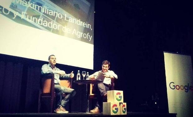 Maximiliano Landrein, CEO de Agrofy, empresa rosarina elegida como caso de éxito de Google.