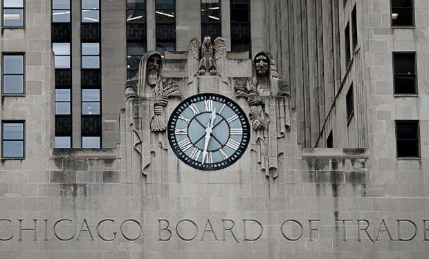 Bajas para la soja, el maíz y el trigo en Chicago.