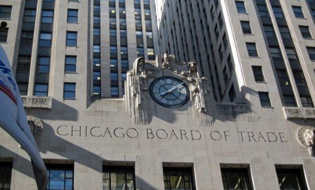Nuevas bajas en Chicago sobre el cierre de la semana