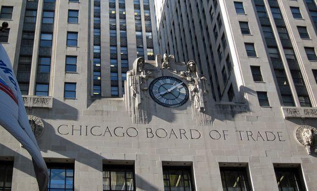 Regresan las bajas al mercado de Chicago