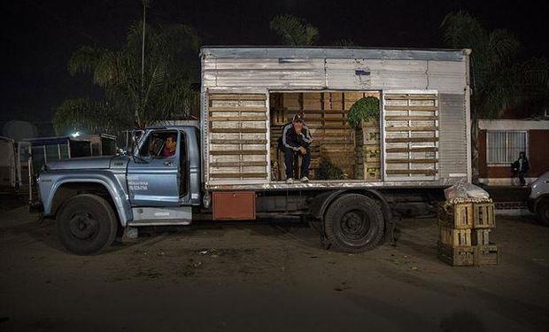 El Mercado de Escobar provee a supermercados, restaurantes y verdulerías de Buenos Aires. Fuente: La Nación.