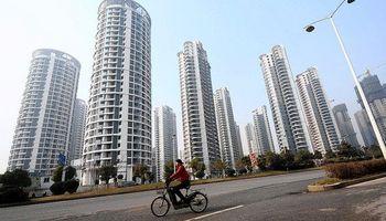 Se desacelera el mercado inmobiliario de China