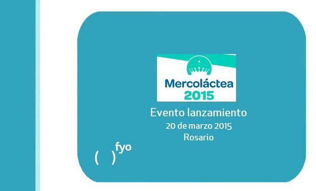 Mercoláctea será desde el jueves 2 al sábado 4 de julio.