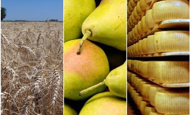 Del trigo a los quesos: los productos del campo en riesgo por la decisión del Gobierno sobre el Mercosur