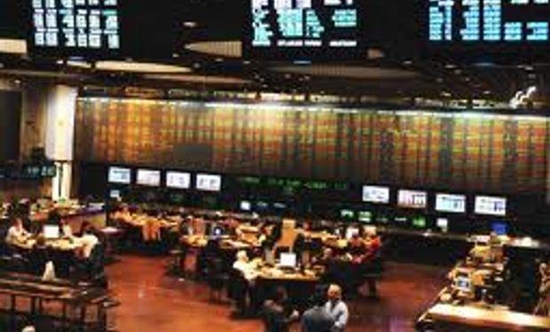 La bolsa porteña cayó 1,3% y los bonos 0,9%