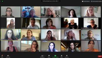 Las 22 mujeres agroindustriales que integran la Mesa de Género