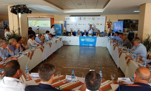 Se reunió la Mesa Nacional del Trigo en Leones, Córdoba.