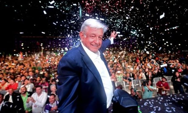 Andrés Manuel López Obrador, presidente electo de Mexico