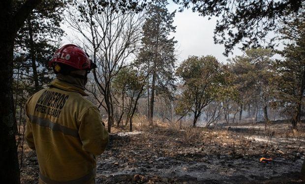 Continúan los incendios en Córdoba, San Luis y Formosa