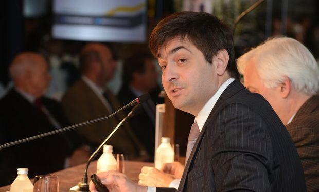El secretario de Agricultura, Gabriel Delgado, fue uno de los disertantes más destacados del Congreso Maizar 2014.