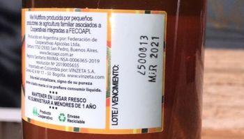 Con este sistema, exportan miel a Colombia sin pagar retenciones