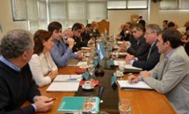 Ministros pamepanos volvieron a reunirse con Agricultura