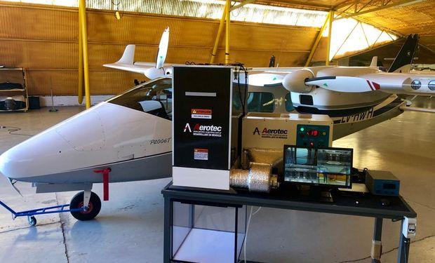 Con la tecnología de Aerotec, se eliminarían las bolsas de papel para el combate de la plaga del mediterráneo.