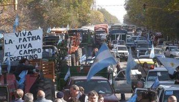 Con movilizaciones en más de 70 localidades, se desarrolló la Jornada Nacional de Protesta del campo