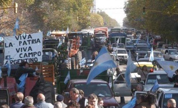 Según las entidades, la movilización fue masiva.