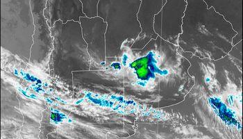 El Servicio Meteorológico Nacional alerta por tormentas en regiones del centro