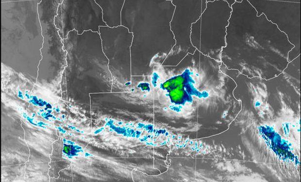 La foto de satélite presenta coberturas que diferencian zonas de actividad.