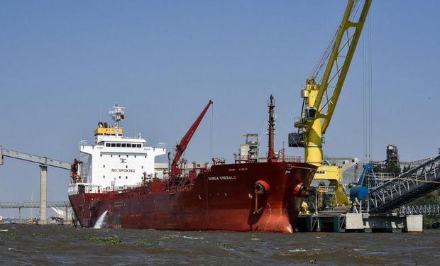 Esta terminal se suma a la que la compañía tiene en el puerto de Necochea y viene a maximizar las descargas. Foto: La Voz.