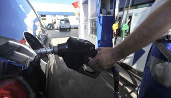 El consumo de nafta creció casi el 5%