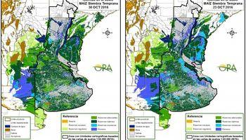 Lluvias más importantes se dieron en regiones afectadas