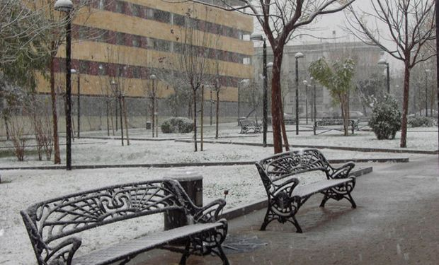 Nieve y frío: las zonas en donde se esperan nevadas para esta noche