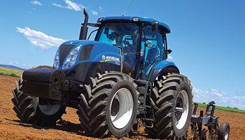 New Holland lleva su tractor líder a La Rural