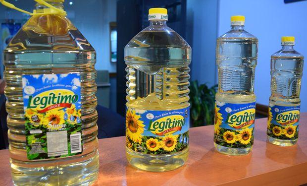 El premio consistió en botellas de aceite para todo un año.