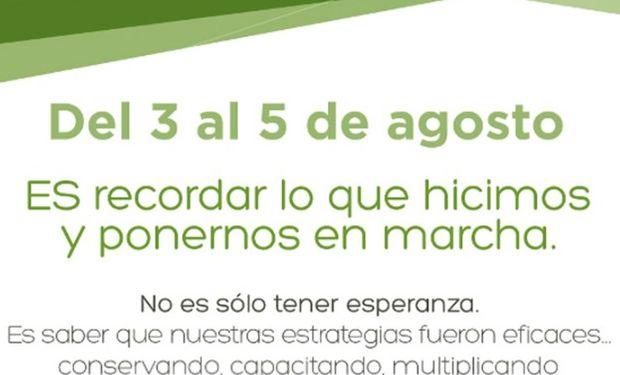 Congreso Aapresid: del 3 al 5 de agosto en Rosario.