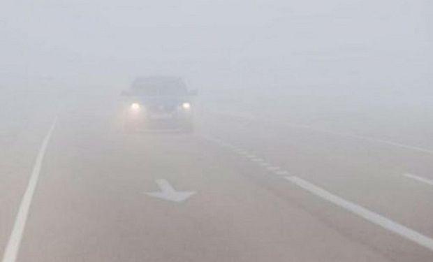 Alerta del Servicio Meteorológico Nacional por bancos de niebla en la región centro