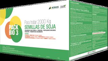 Nueva línea de productos biológicos para soja de Nitrasoil