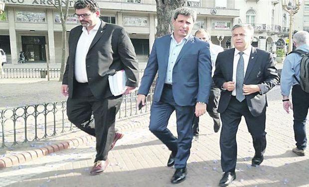 El peronista Uñac y el radical Cornejo plantearon a Cabrera los perjuicios que provocaría el impuesto a las economías regionales.