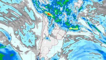 Lluvias acotadas sobre el NEA: el pronóstico del clima para los próximos 7 días