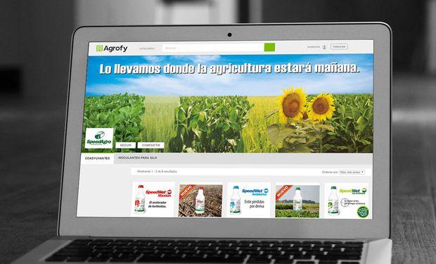 SpeedAgro lanza su canal online en Agrofy.